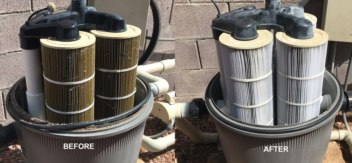 Swimming Pool Filter Cleaning In Las